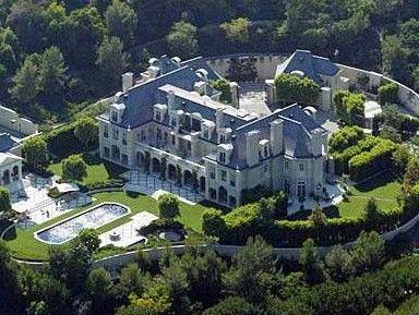 Denzel Washington'un saray yavrusu evi.